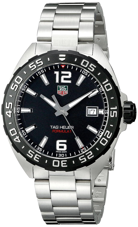 3aa0092310b Amazon.com  TAG Heuer Men s WAZ1110.BA0875 Stainless Steel Watch  TAG Heuer   Watches