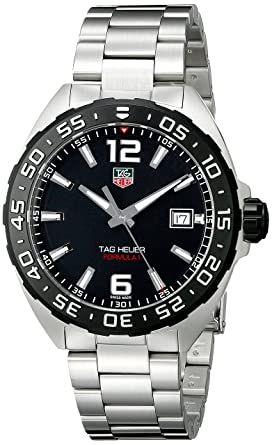 84eb50d39af5 Image Unavailable. Image not available for. Color  TAG Heuer Men s WAZ1110. BA0875 Stainless Steel Watch