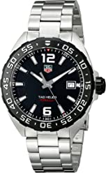 TAG Heuer Mens WAZ1110.BA0875 Stainless Steel Watch