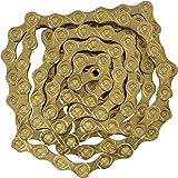 KMC X10 116L 10-Speed Bicycle Chain - Ti Gold