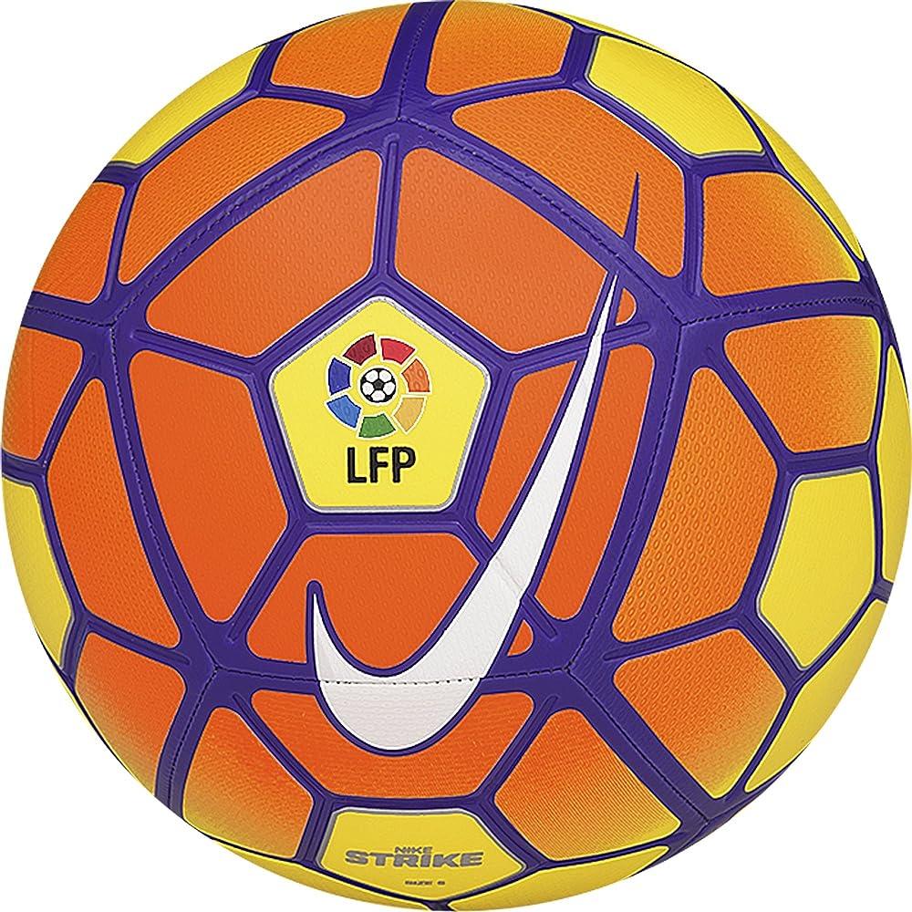 Nike Jersey Balón, Unisex, Amarillo/Naranja/Morado/Blanco (Vis), 3 ...