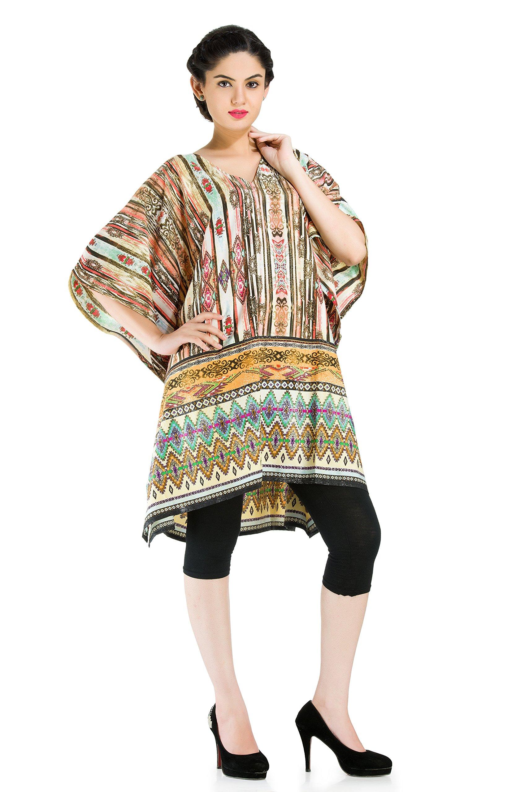 Goood Times Caftan Tunic Kaftan Top Plus Size