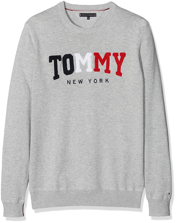 Tommy Hilfiger Boy's Tommy Towelling Sweater Jumper KB0KB04259