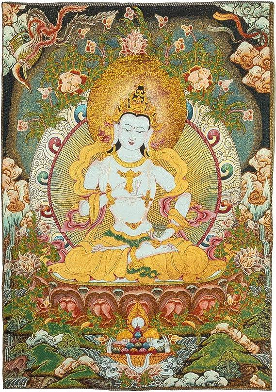 Prime Feng Shui bordado de seda tibetano Vajrasattva Thangka para ...