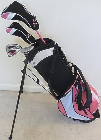 Las niñas edad 8 - 12 Junior Golf Club Set con bolsa para ...