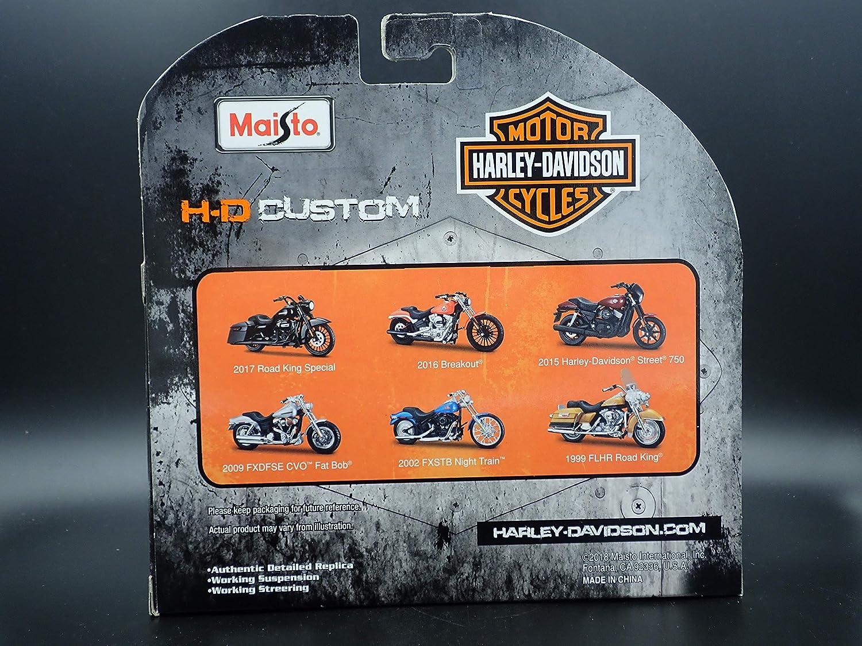 Amazon.com: 2009 FXDFSE CVO Fat BOB Harley Davidson Moto ...