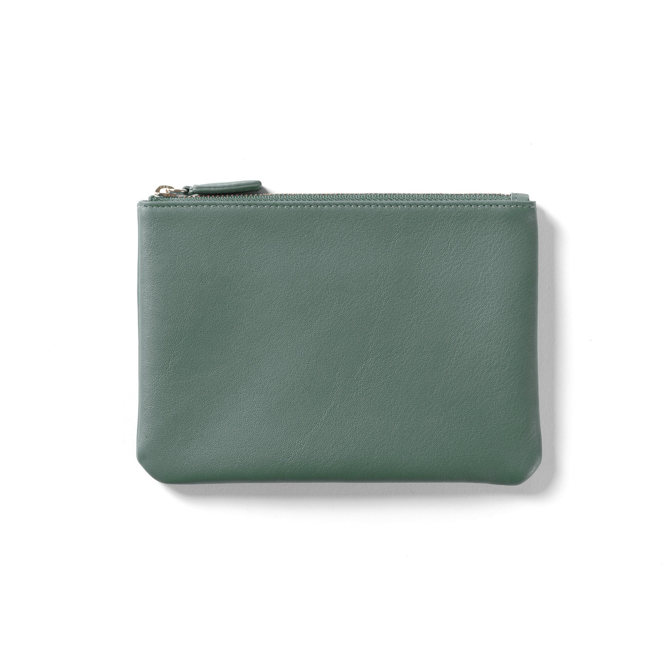 Small Pouch - Full Grain Leather Leather - Dusk (blue)
