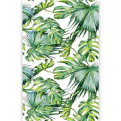 Artgeist Photo Wallpaper Tropical Leaves 59x110 Xxl Non Woven Wall Mural Premium Print Fleece Picture Image Design Home Decor Bb 0295 Am A