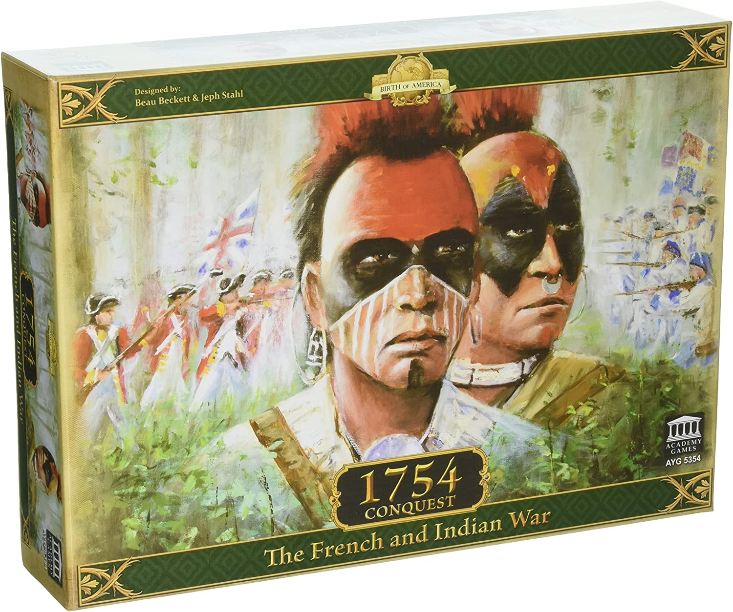 Academy Games ACA05354 1754 Conquest The French and Indian War Juego de Mesa: Amazon.es: Juguetes y juegos