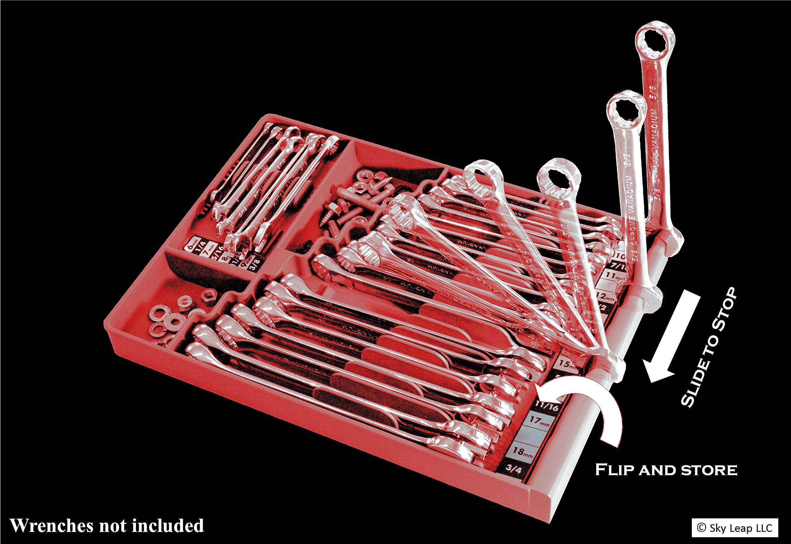 Tool Sorter Wrench Organizer - Red by Tool Sorter (Image #8)
