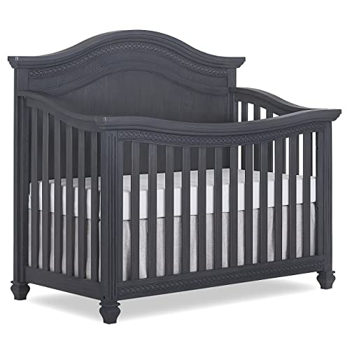 Evolur Madison 5, 1 Curved Top Convertible Crib
