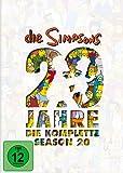 Die Simpsons - Die komplette Season 20: 20 Jahre Simpsons [4 DVDs]