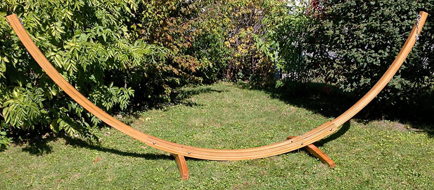 amazon     bamboo arc hammock stand for all hammocks   14 5 foot heavy duty wooden stand by hammock universe   strong solid eco friendly multi ply     amazon     bamboo arc hammock stand for all hammocks   14 5 foot      rh   amazon