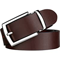 Urban Alfami 100% Genuine Leather Brown Casual and Formal Belts For Men and Boys (2 Year Money Back Guarantee)-belts for men leather original-belt for men formal leather-gifts for men BRJS-04