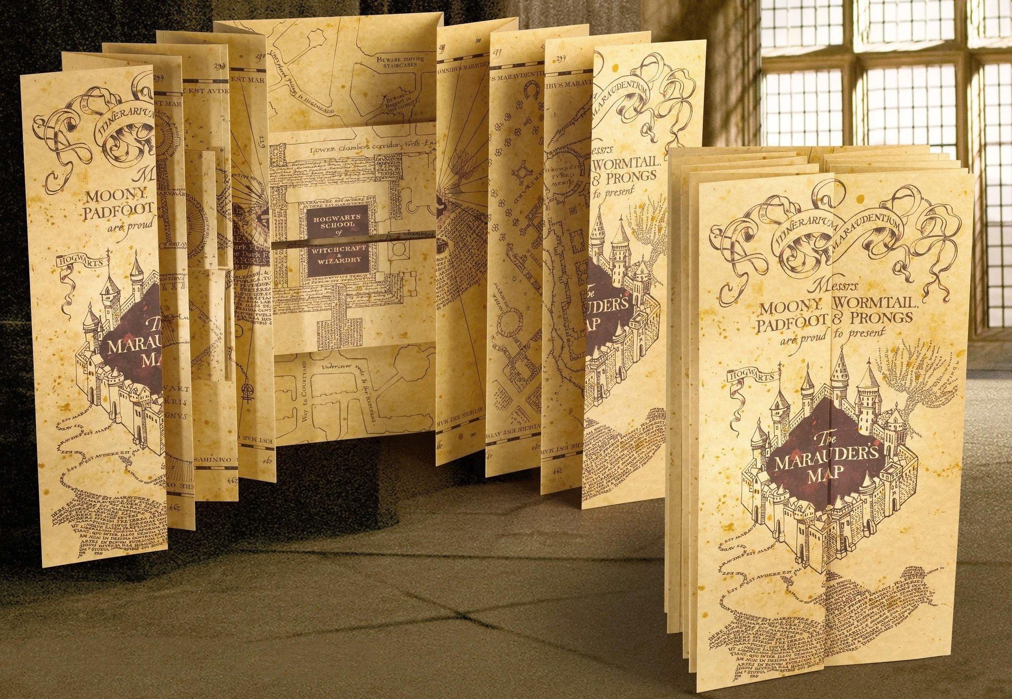 Harry Replica Mapa Merodeador Potter product image