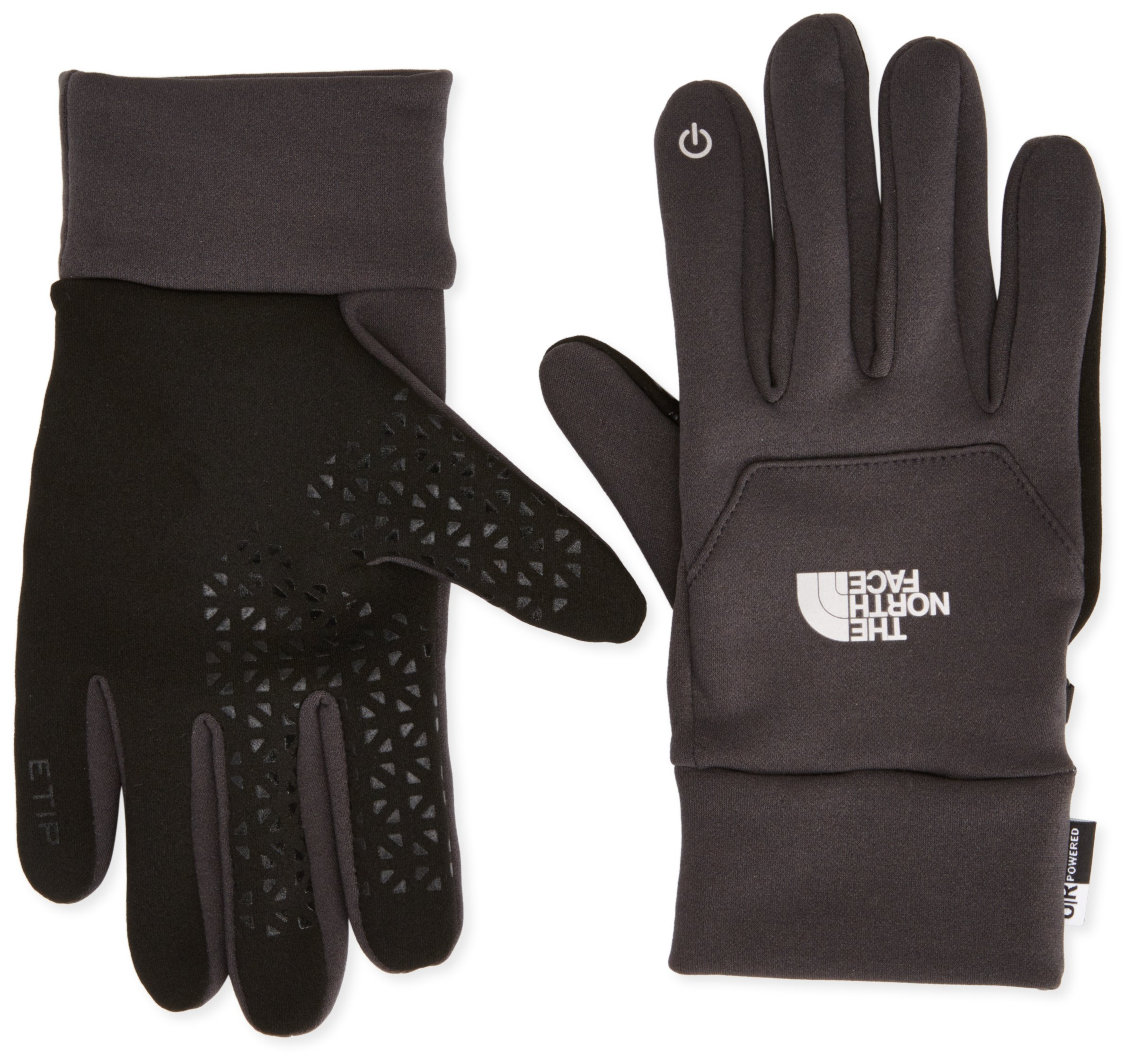 The North Face Unisex Etip Glove Asphalt Grey LG