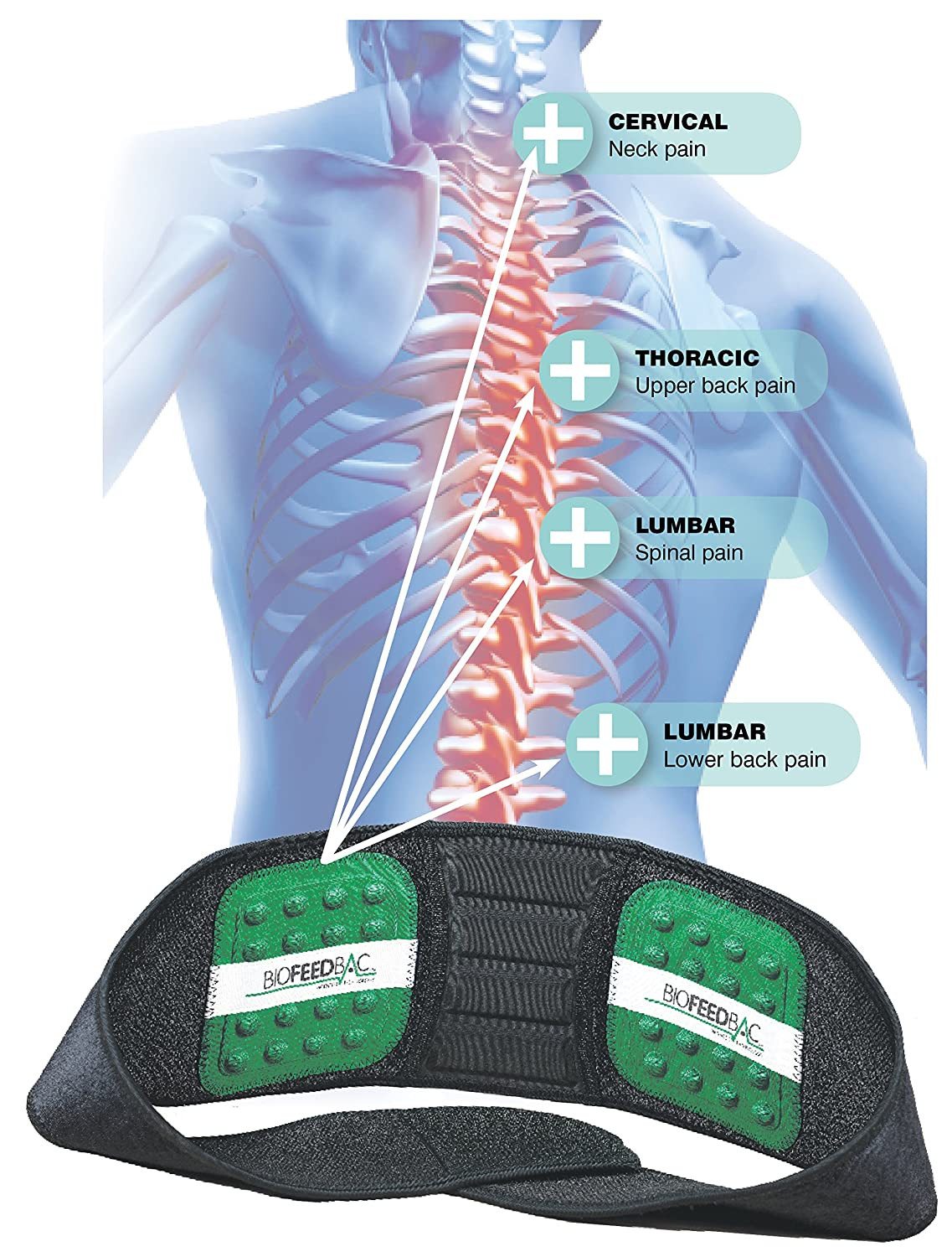 Colour therapy for sciatica - Colour Therapy For Back Pain Lumbros Biofeedbac Posture Support Belt Stop Back Pain Designed By