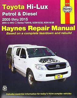 toyota hi lux and hi ace owner s workshop manual haynes toyota pick rh amazon co uk Toyota Hiace Minibus Toyota Hiace Diesel
