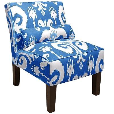 Skyline Furniture Armless Chair, Himalaya Porcelain