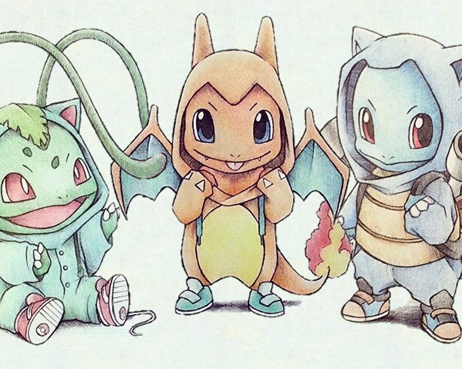 amazon com pokemon bulbasaur charmander squirtle color pencil