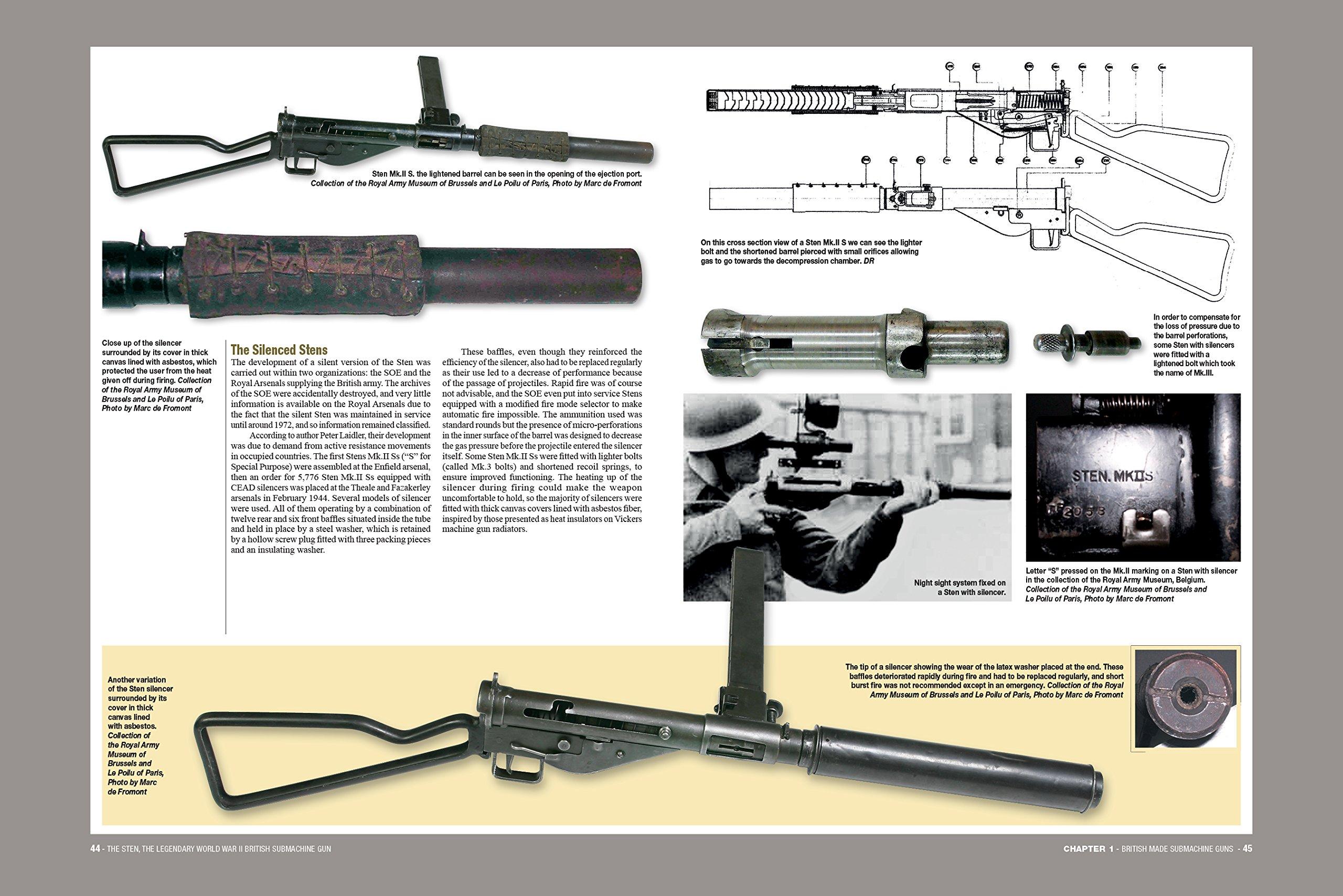 The Sten: The Legendary World War II British Submachine Gun