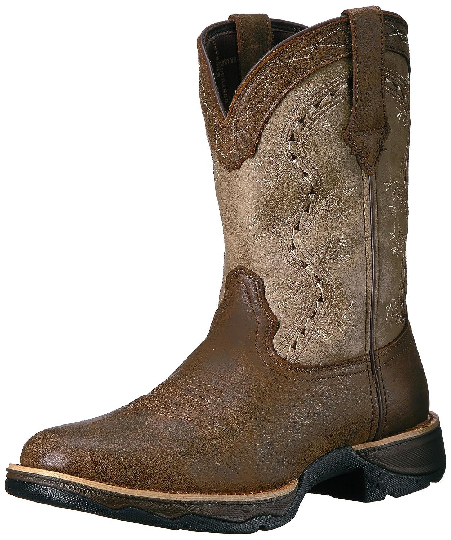 Durango Women's Drd0176 Western Boot B01HF79FNS 6.5 B(M) US|Dark Brown/Tan