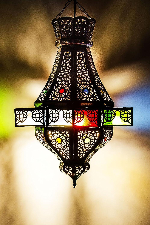 Marrakesch lámpara colgante multicolor alem 50 cm E27 ...