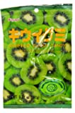 Kasugai Gummy Candy, Kiwi, 3.77-Ounce Packages (Pack of 12)
