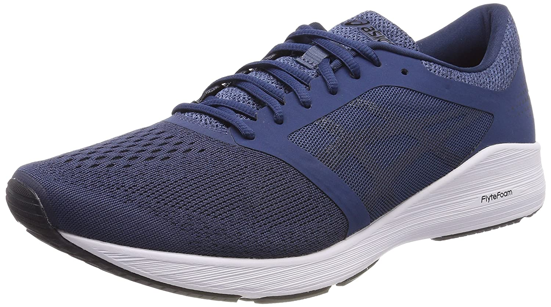 Asics Roadhawk FF, Zapatillas de Running para Hombre 43.5 EU|Azul (Dark Blue/Black/White 4990)