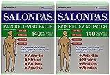Salonpas Pain Relieving Patch - 140 Count