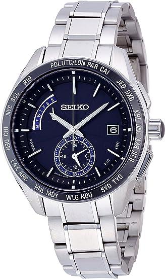 [セイコーウォッチ] 腕時計 ブライツ チタン ソーラー電波修正 サファイアガラス スーパークリア コーティング SAGA179