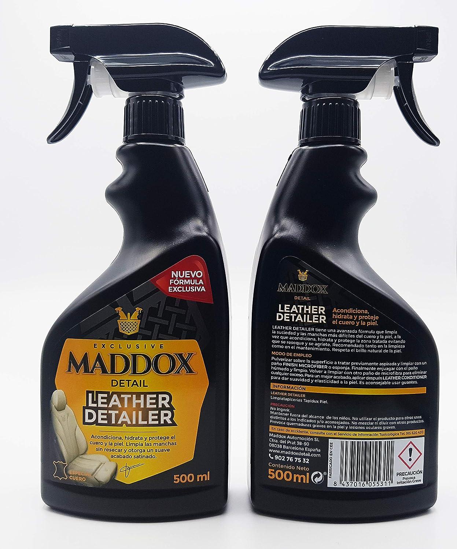Maddox Detail 30202 Leather Detailer Lederreiniger Für Auto 500 Ml Auto