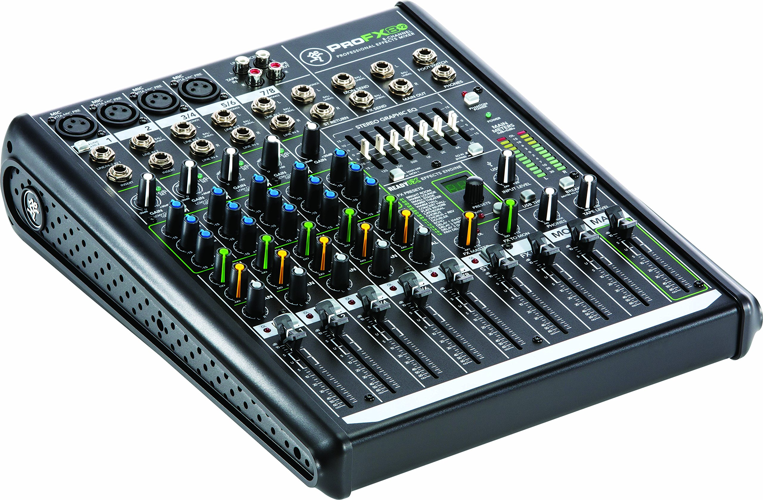 Mackie PROFX8V2 8-Channel Compact Mixer with USB and Effects by Mackie (Image #6)