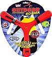 WICKED Außen Magie Sports Boomerang, Farbe ändert, 15-20m Flugdistanz