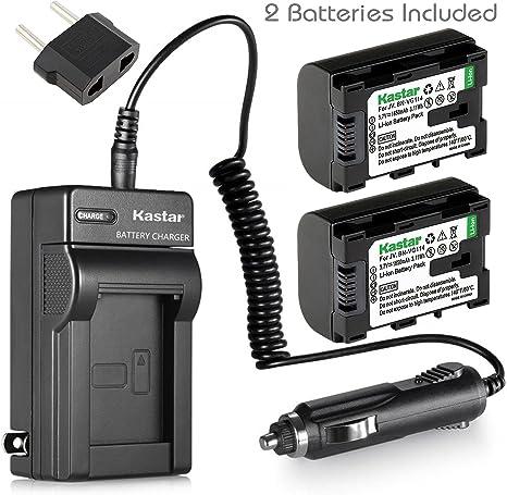 GZ-MS230BU Cargador de Batería para JVC Everio GZ-MS230AU GZ-MS230RU Videocámara