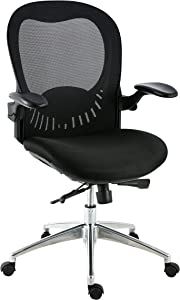 Poly and Bark Xavier Office Chair in Mesh, Black