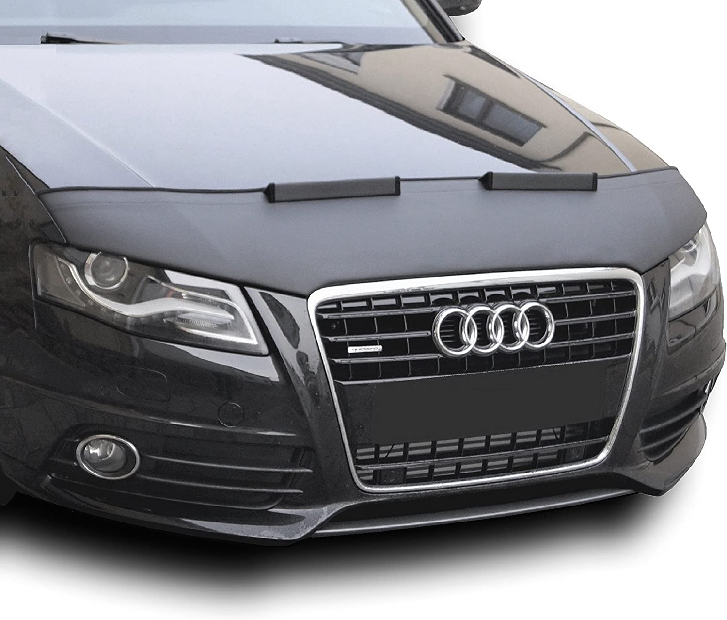 Hood Bra for Audi A4 B7 Bonnet Car Bra Front End Cover Nose Mask Stoneguard Protector TUNING