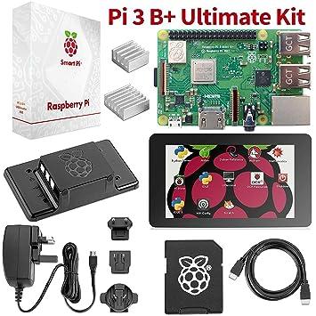 Raspberry Pi 3 B+ último Kit Para Comenzar - Paquete Completo