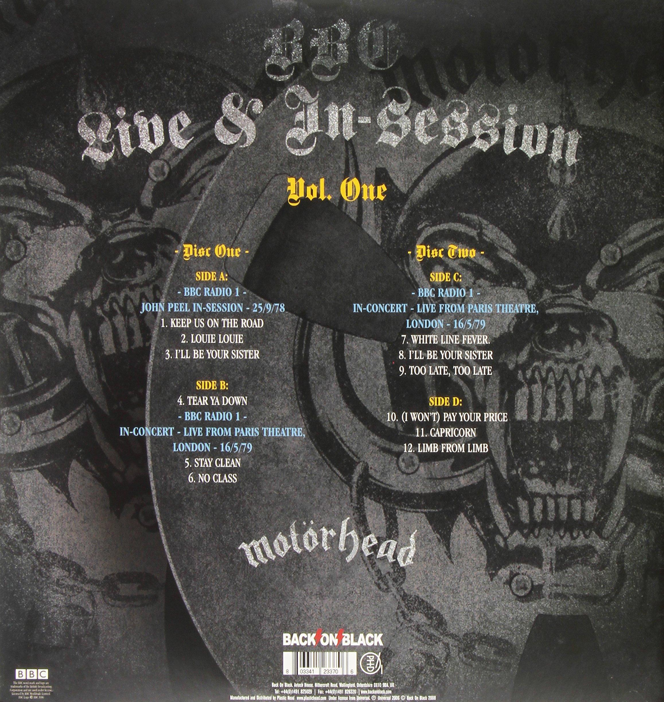 BBC Live in Session, Vol. 1 [Vinyl] by Motorhead