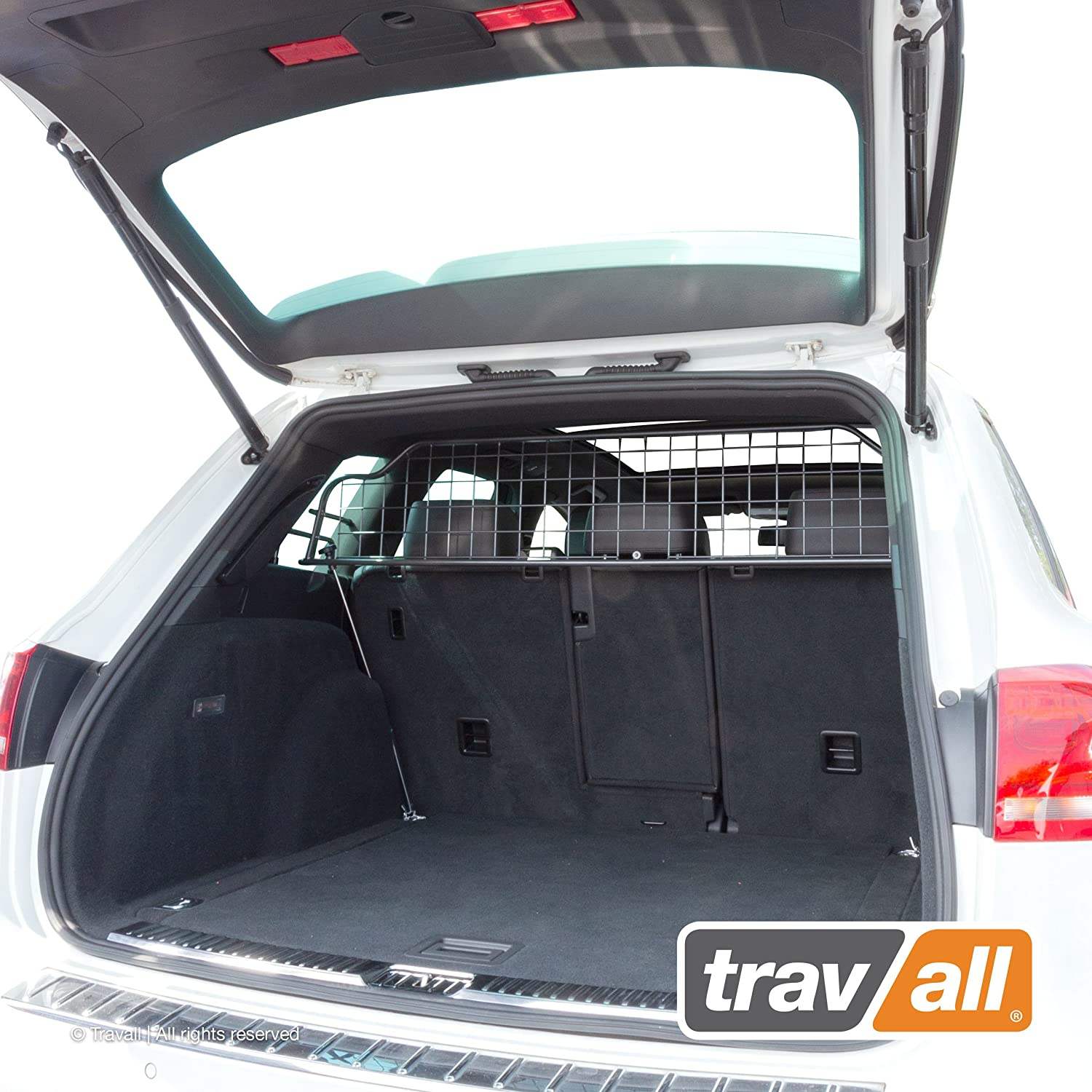 Travall Guard Compatible with Volkswagen Touareg 2010-2018 TDG1357 – Rattle-Free Steel Pet Barrier