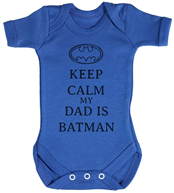 TRS - Calm My Dad Is Batman regalo para bebé c1071d0192960