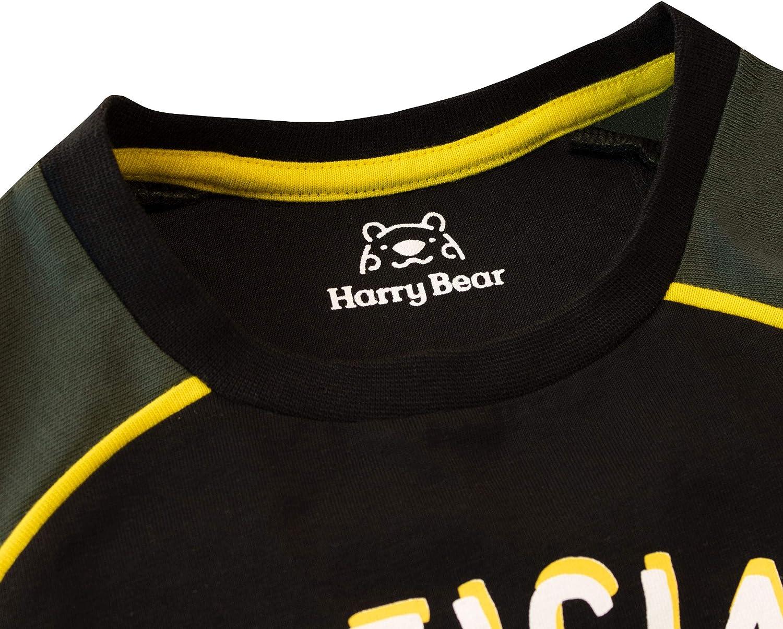 Harry Bear Maglietta Maniche Corta per Ragazzi Dinosauro