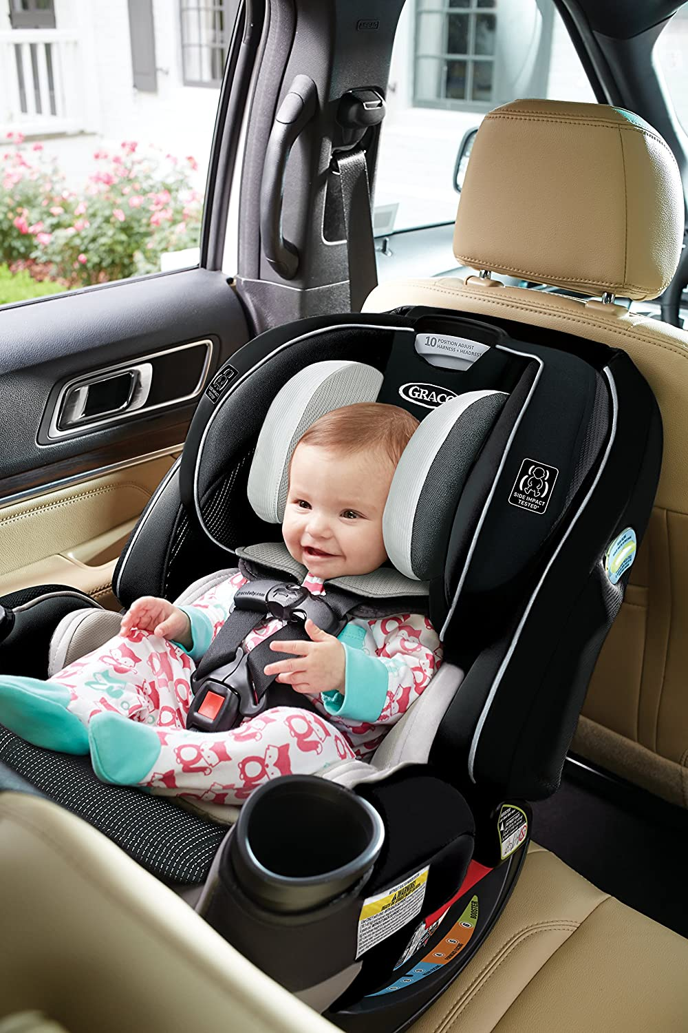 Amazoncom  Graco 4Ever Extend2Fit All in One Convertible Car