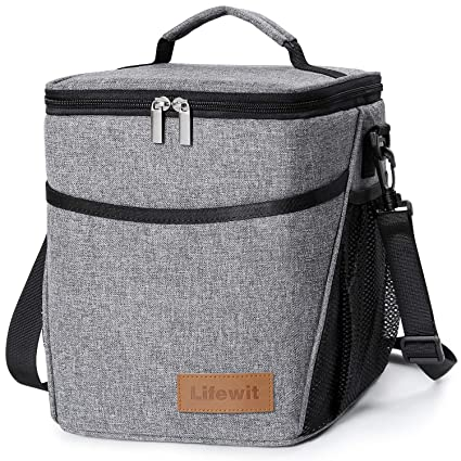 f9a60c2c9f Amazon.com  Lifewit Insulated Lunch Box Lunch Bag for Adults Men ...