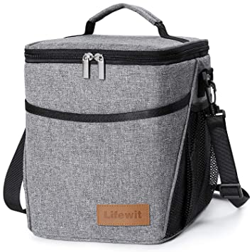 Amazon.com  Lifewit Insulated Lunch Box Lunch Bag for Adults Men ... 9dc734d71