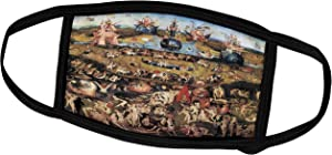 3dRose Face Mask Small, Garden of Earthly Delights by Hieronymus Bosch