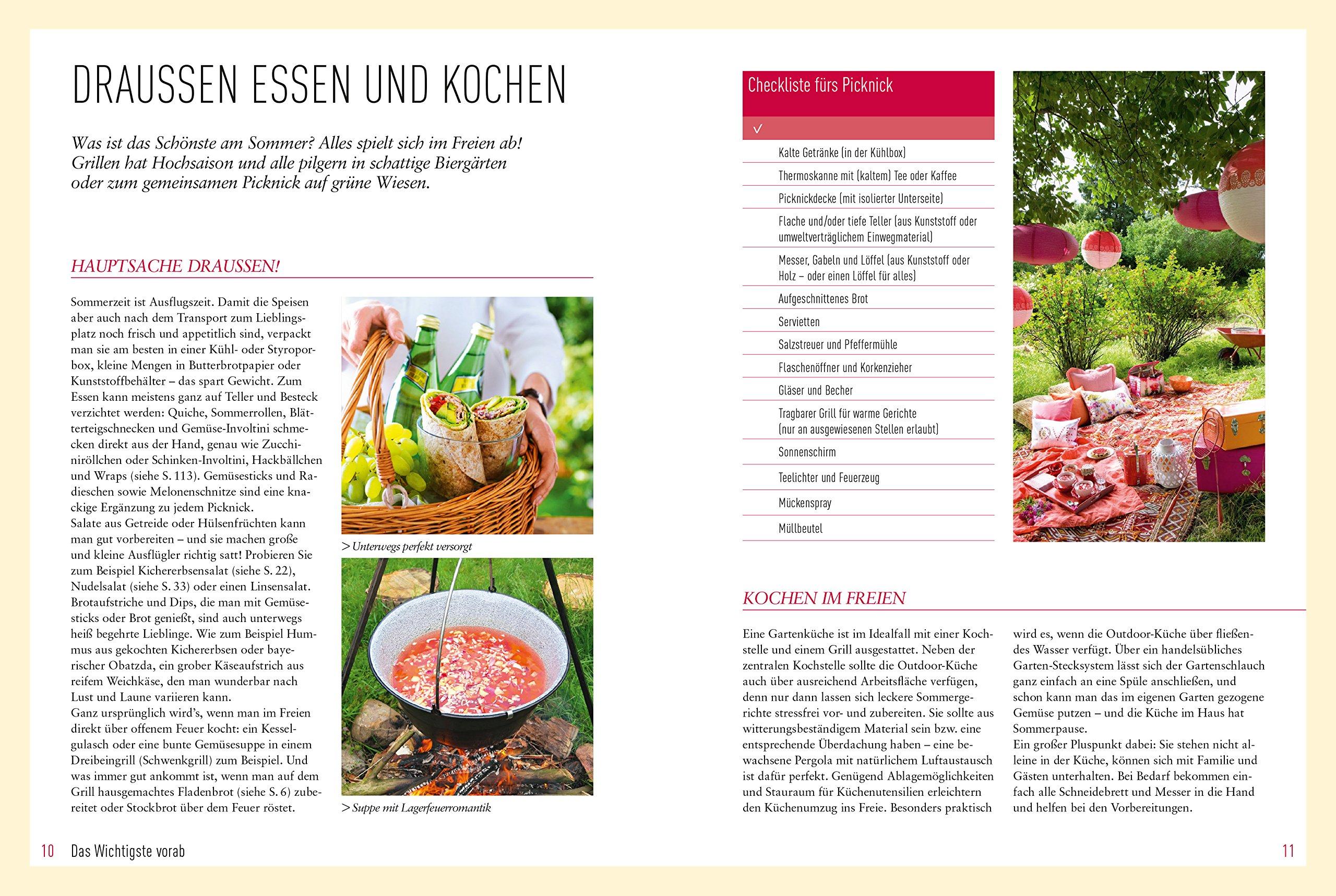 Echt Sommerküche: Über 100 kreative Rezepte: Amazon.co.uk: Michaela ...