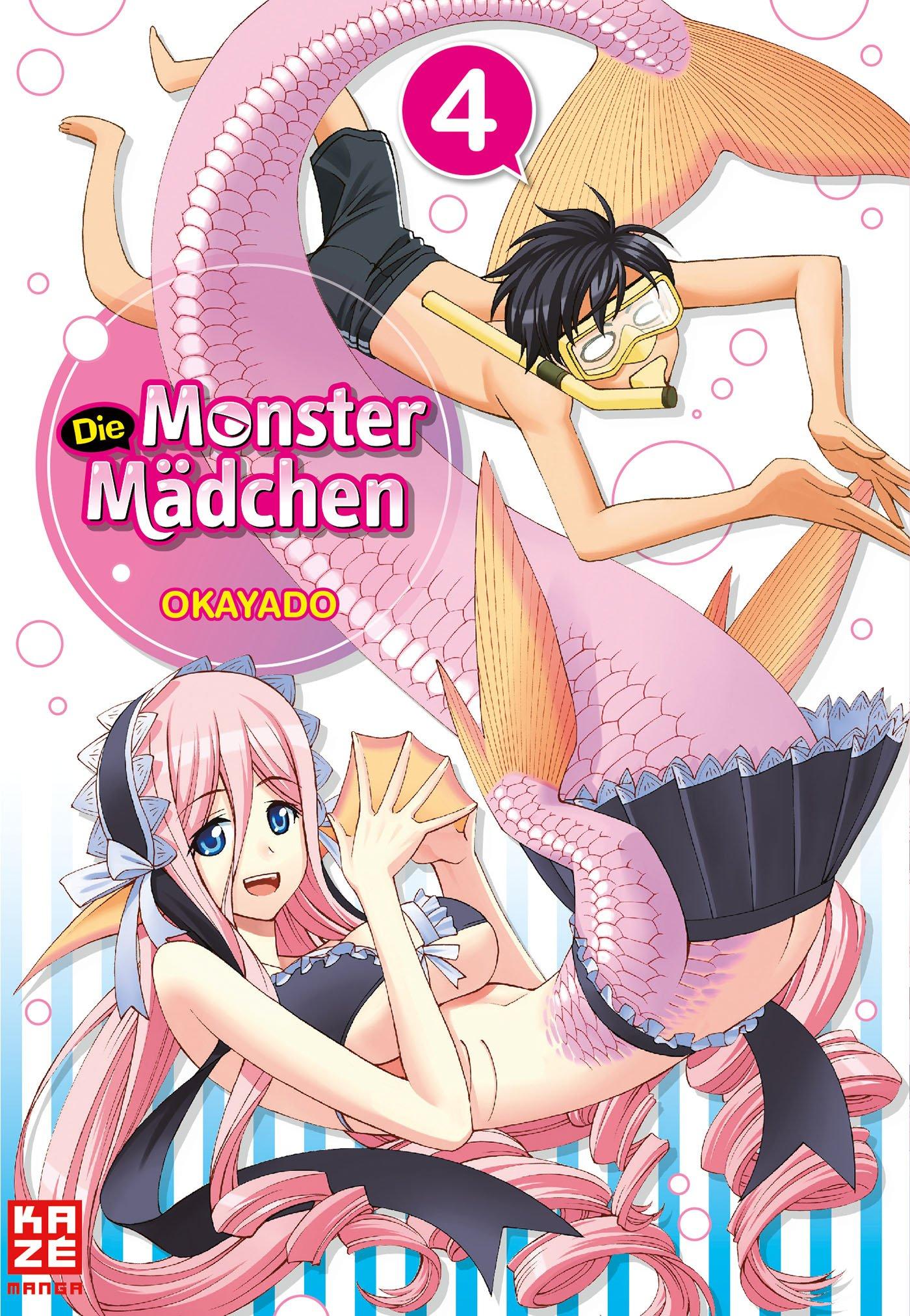 Die Monster Mädchen 01 Amazonde Okayado Bücher