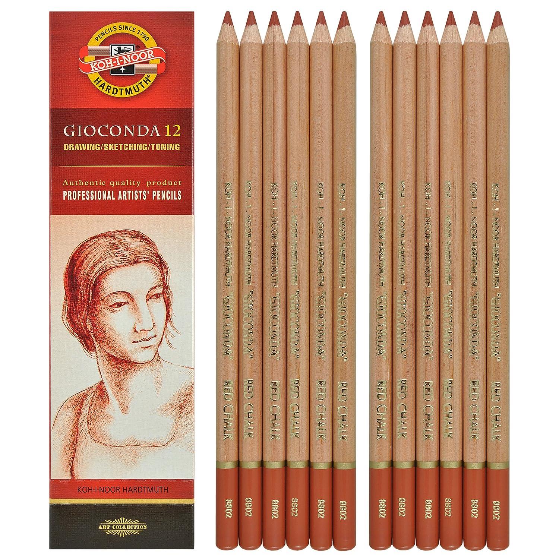 Koh-i-noor Gioconda - Russet Sepia. 12 Pencils. 8802