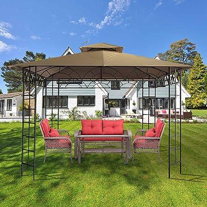 CO Z On Clearance Patio Garden Gazebo 10u0027x10u0027 Outdoor Gazebos And Canopies